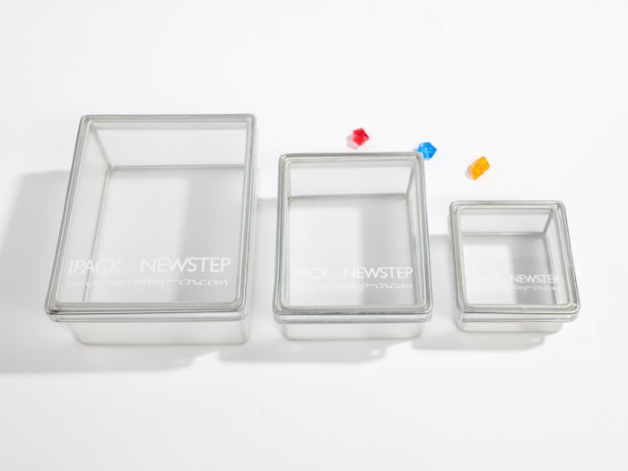 Transparent PVC Stainless Steel Structure Packaging Boxes