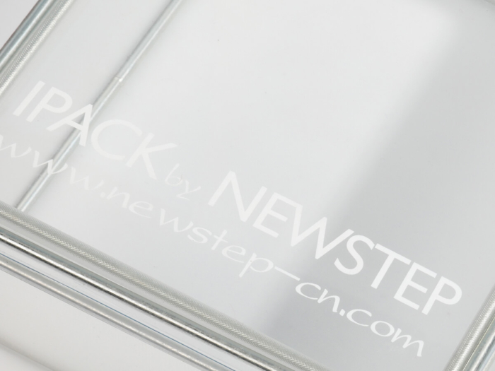 Transparent PVC Stainless Steel Structure Packaging Boxes Printed