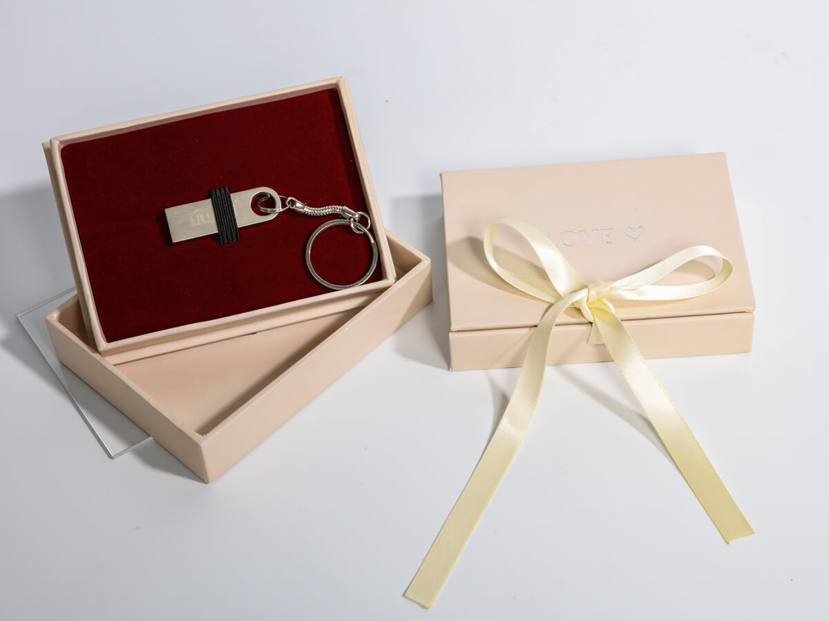 Wedding Gift Packaging Boxes For USB and Card