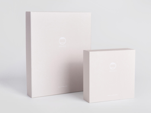 Women Garment Packaging Rigid Boxes Set