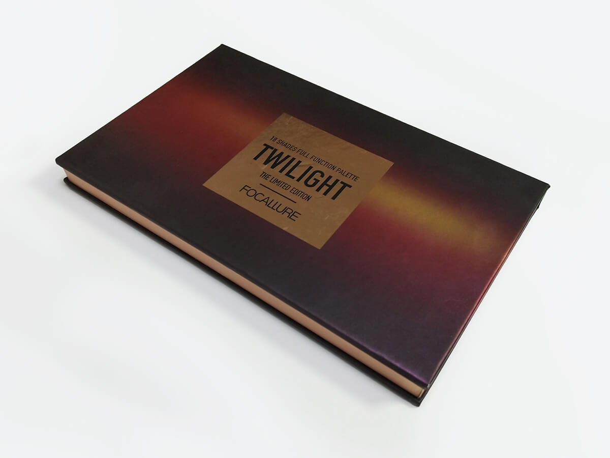 Eyeshadow Paper Palette Packaging Boxes LOGO Technique