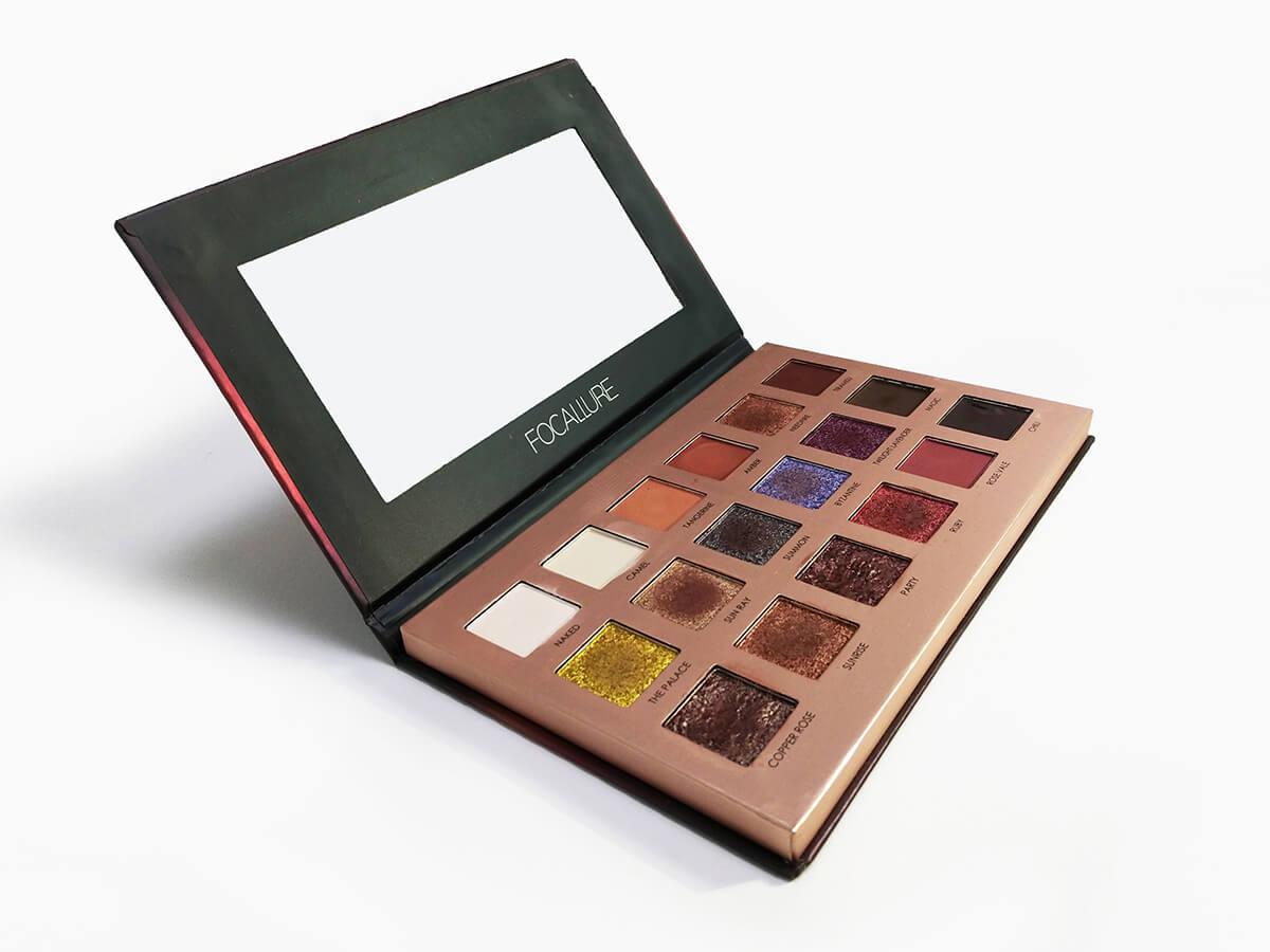 Eyeshadow Paper Palette Packaging Boxes