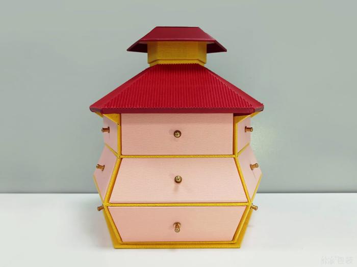 Original Desgine Castle Gift Packaging Boxes
