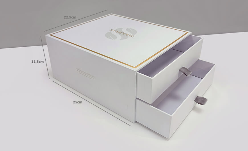 Cosmetic Gift Boxes size