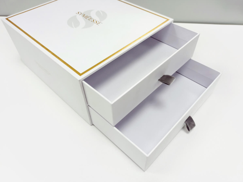 Double Drawer Type Cosmetic Gift Boxes