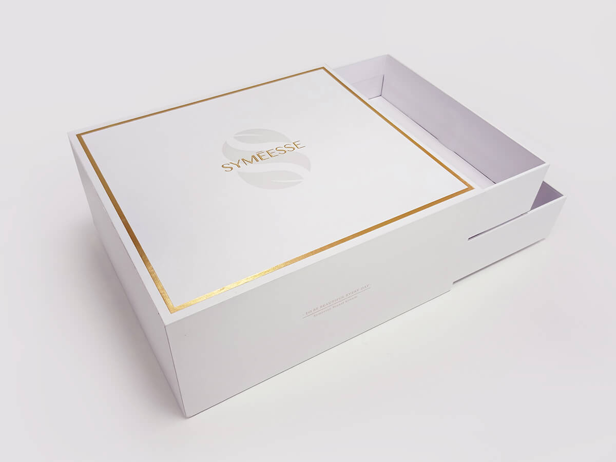 Cosmetic Gift Boxes Side Display