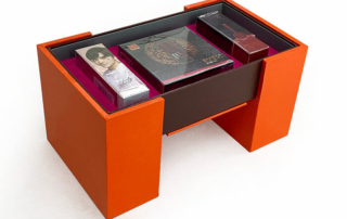 Luxury Pull-out Rotating Cosmetic Gift Box