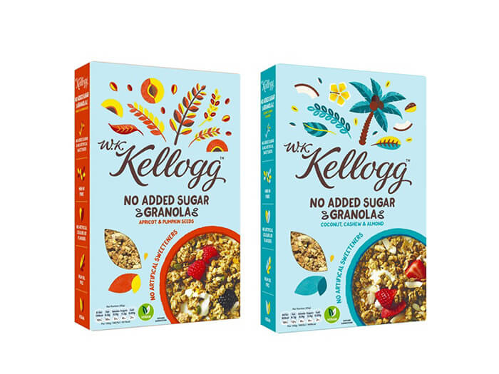The packaging box of breakfast packaging