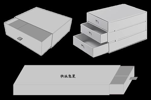 引き出しボックスの構造