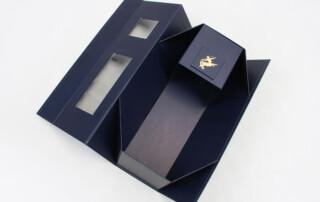 folding box for wine