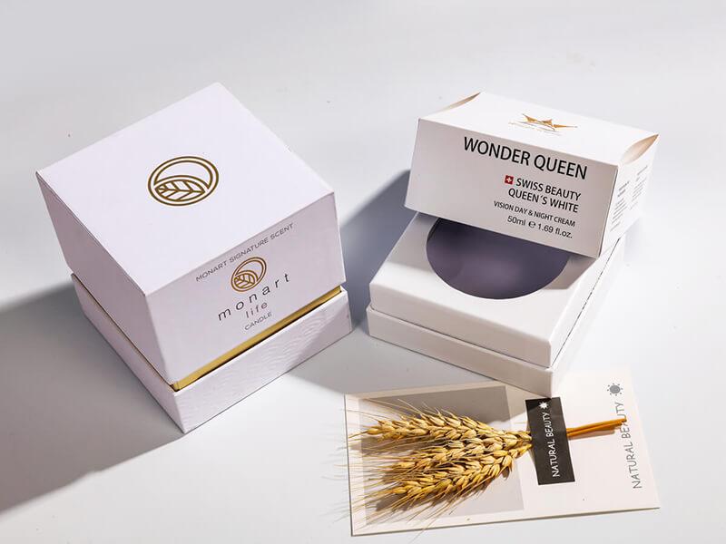 Skin Care Face Cream Packaging Rigid Boxes