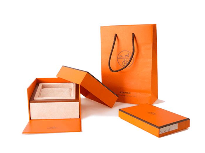 Hermès packaging set