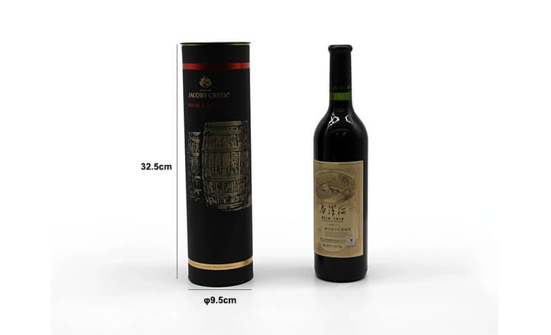 Cylinder Wine Box Size