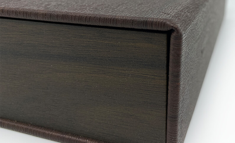 Leather Tea Box Material Embossing