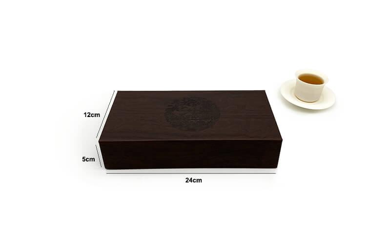 Leather Tea Box Size