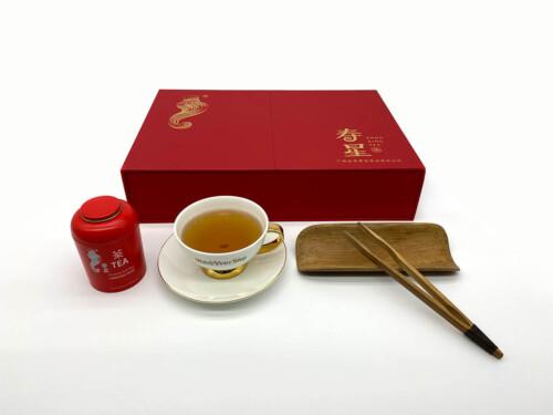Tea Box Double Door Opening